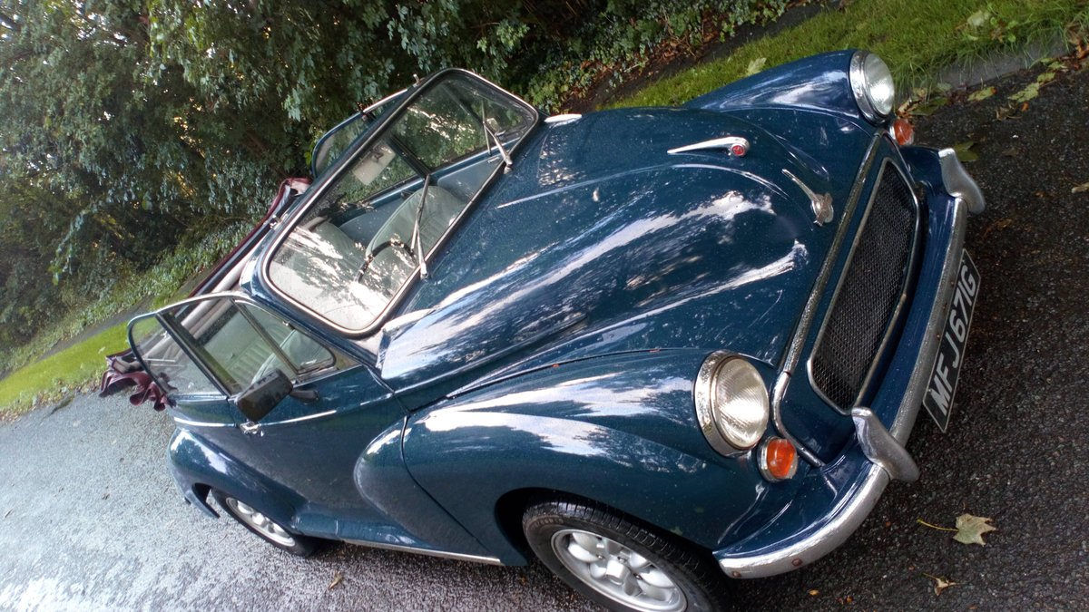 Morris Minor Convertible 1968, Interesting history SOLD (picture 2 of 6)