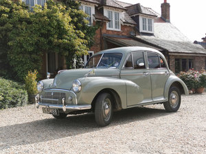 1952 Morris Minor 12 Sep 2019 For Sale by Auction