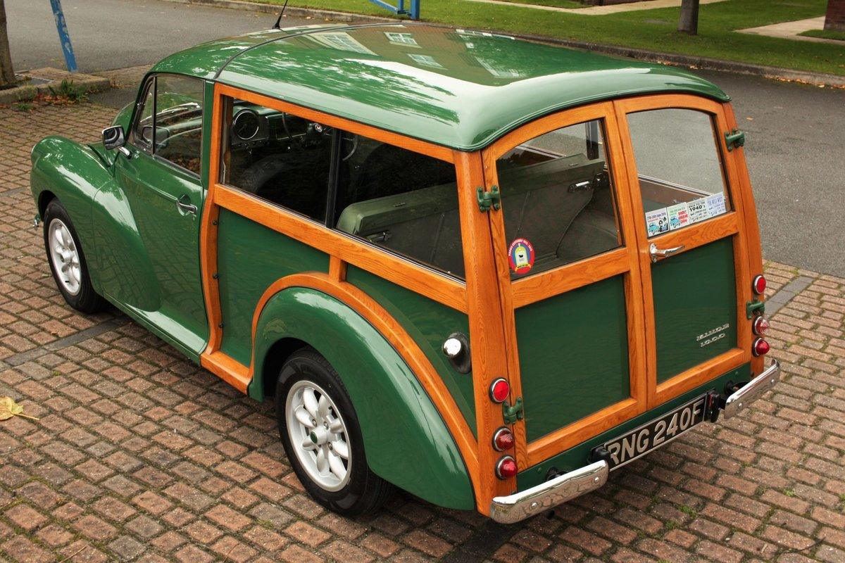 1968 Morris Minor Traveller - Fully Restored - New Wood! SOLD (picture 1 of 6)