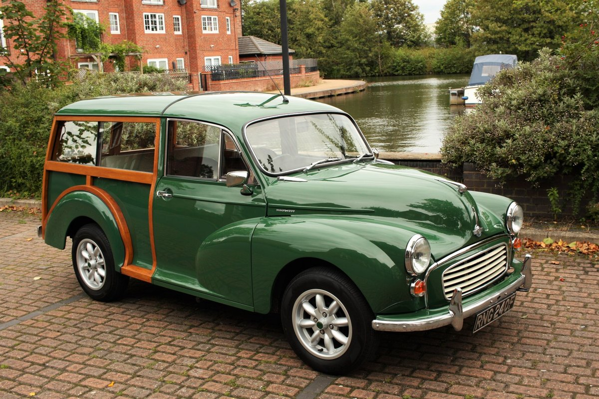 1968 Morris Minor Traveller - Fully Restored - New Wood! SOLD (picture 2 of 6)