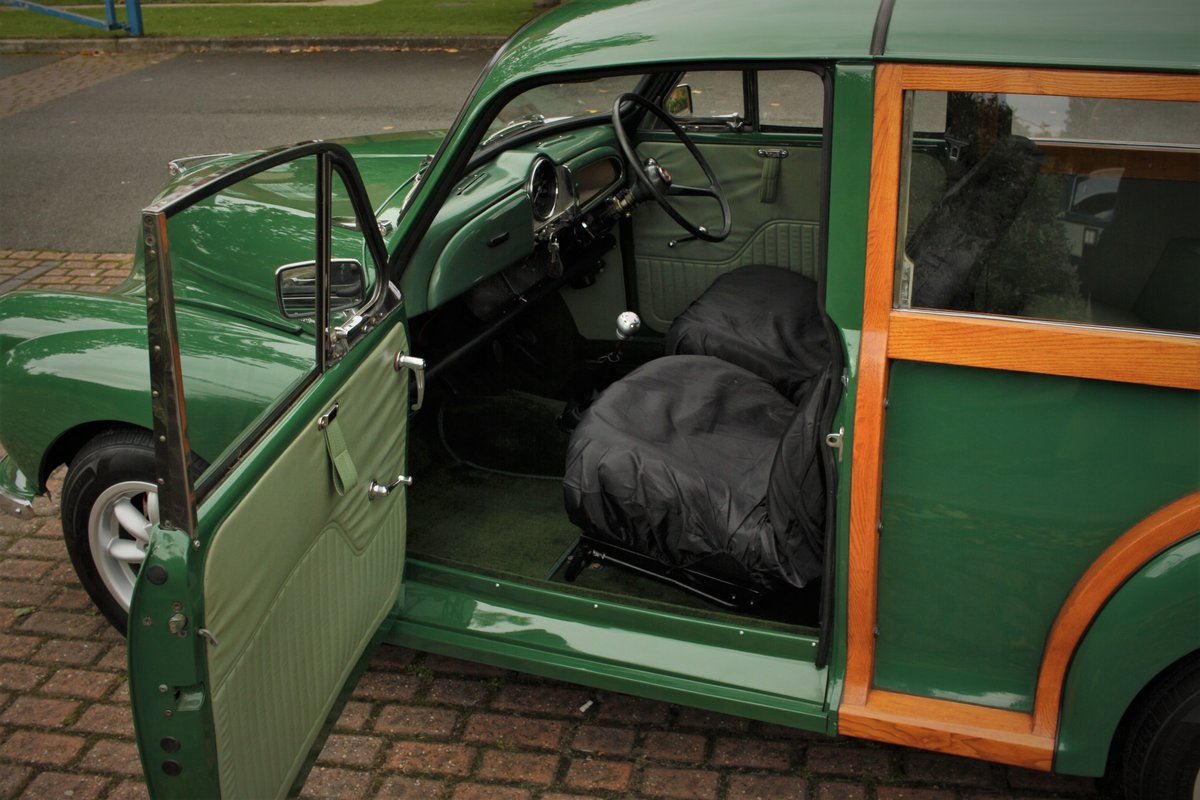 1968 Morris Minor Traveller - Fully Restored - New Wood! SOLD (picture 5 of 6)
