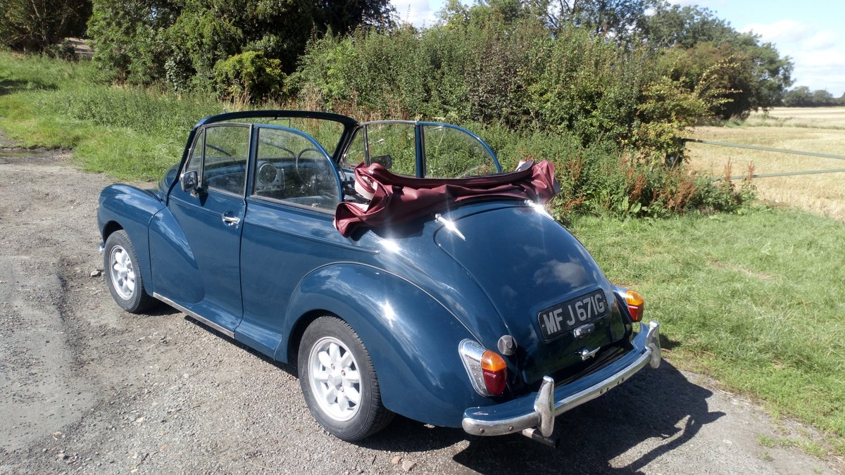 Morris Minor Convertible 1968, Interesting history SOLD (picture 1 of 6)