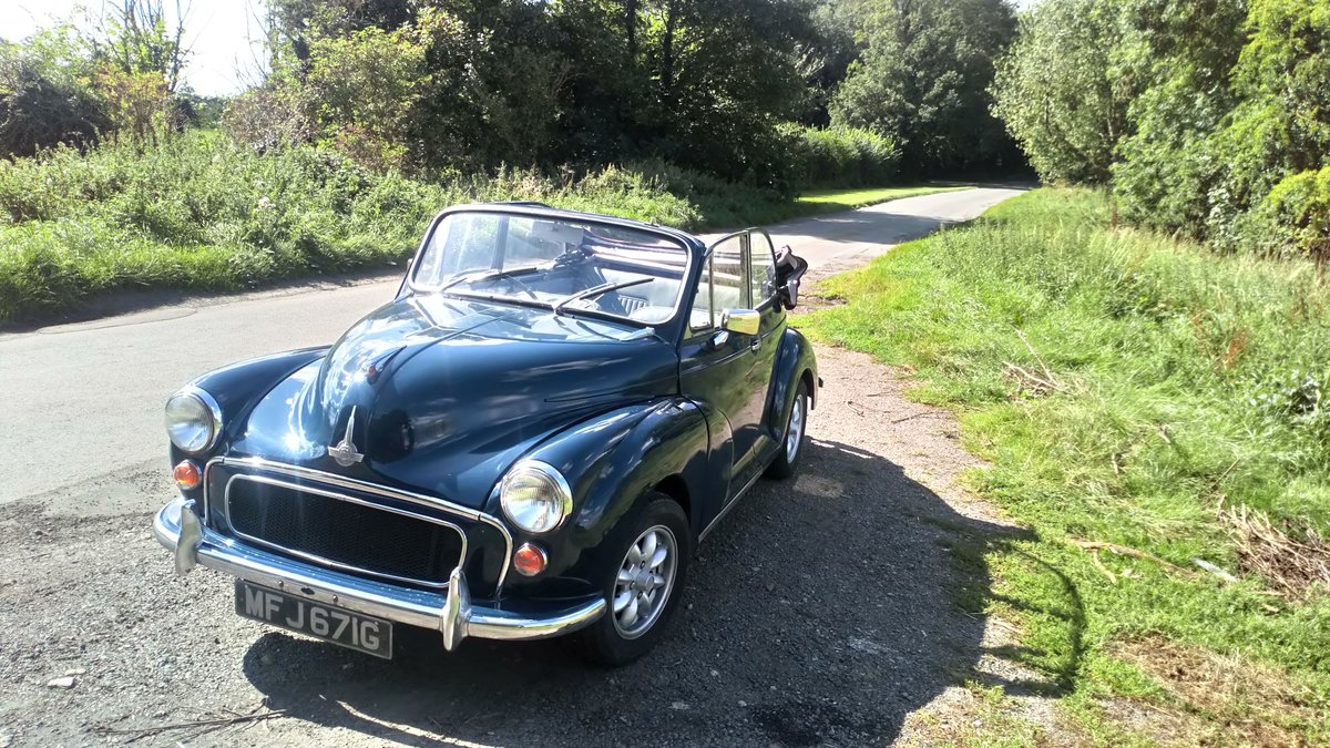 Morris Minor Convertible 1968, Interesting history SOLD (picture 3 of 6)