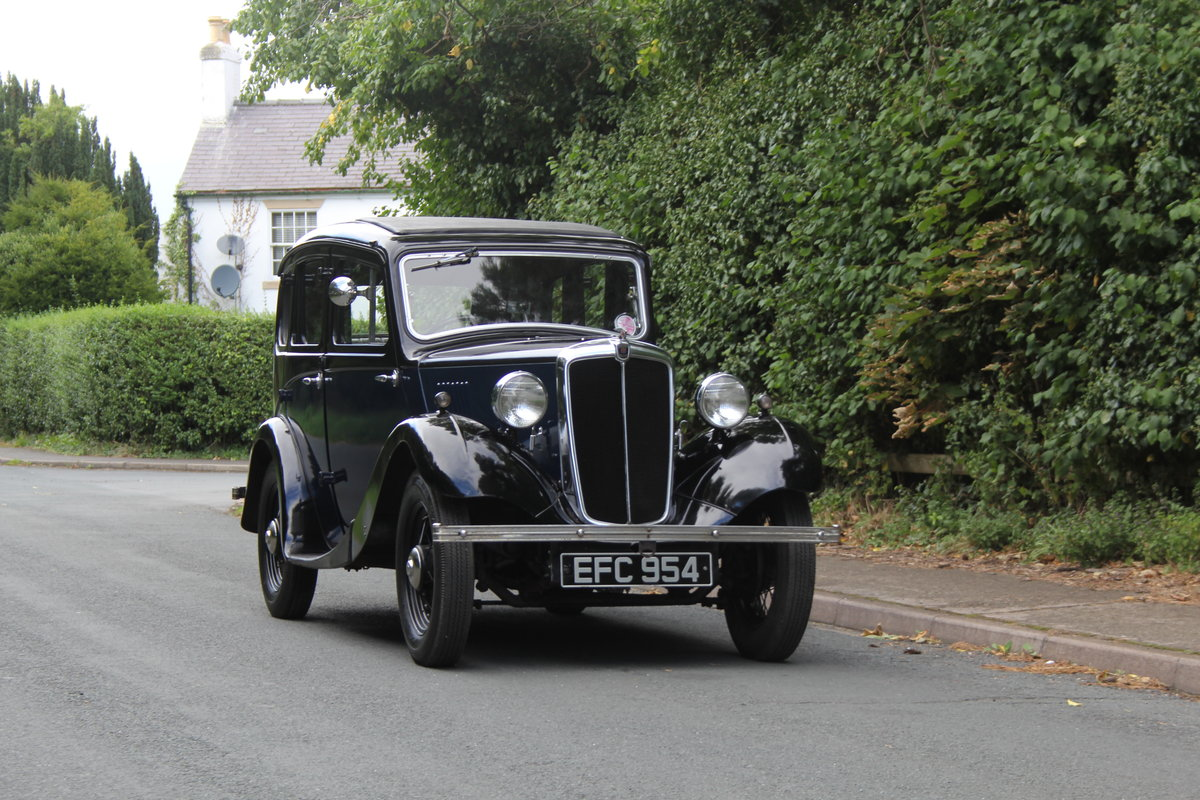 1937 Morris 8 Series I Saloon SOLD (picture 1 of 19)
