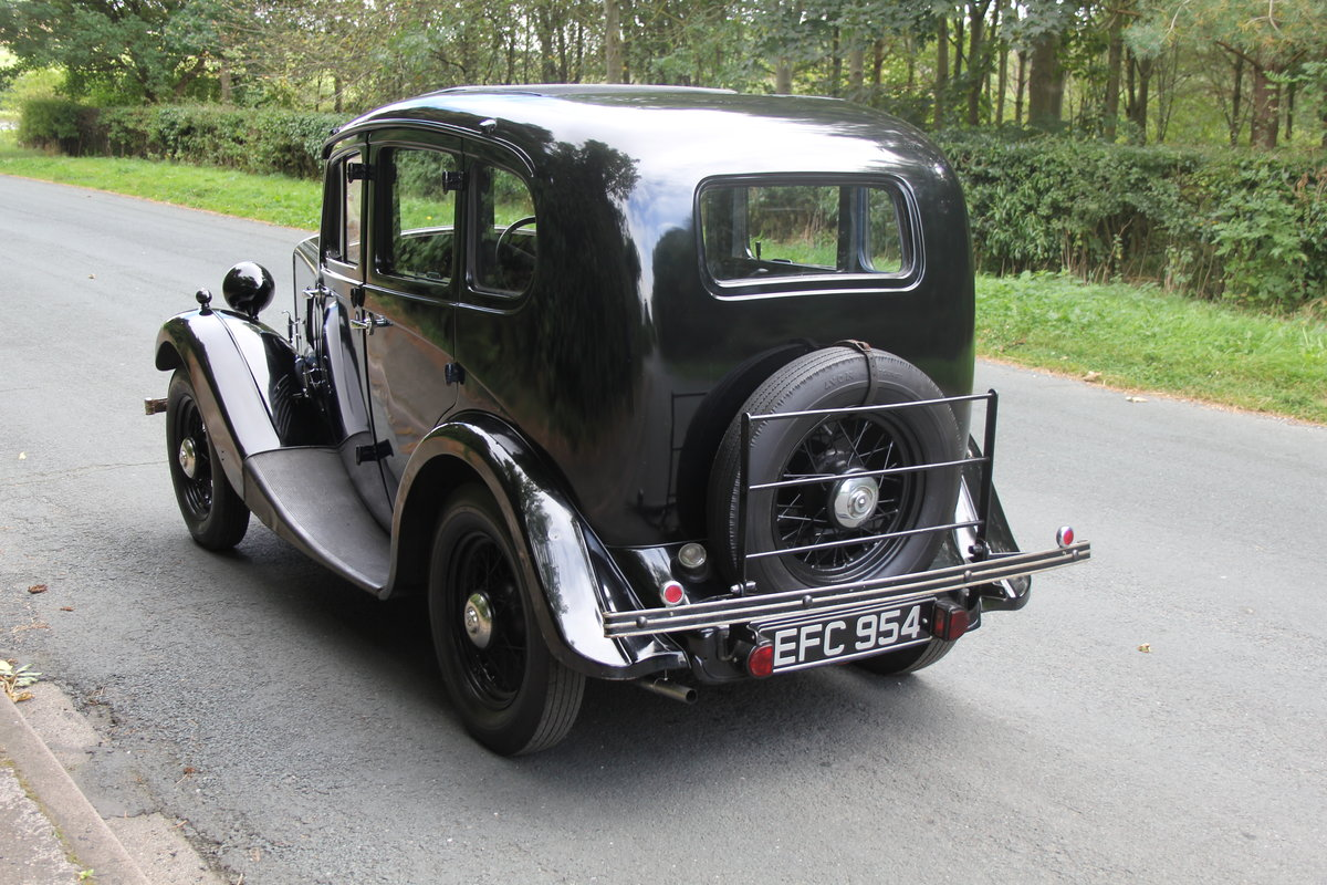 1937 Morris 8 Series I Saloon SOLD (picture 4 of 19)