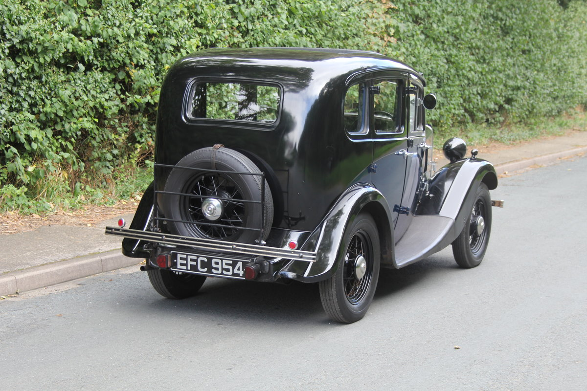 1937 Morris 8 Series I Saloon SOLD (picture 6 of 19)