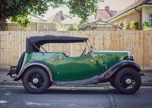 1937 Morris Eight Tourer For Sale by Auction