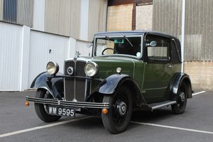 Morris 10/4 FHC Special 1933 - To be auctioned 25-10-19 For Sale by Auction