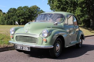Morris Minor 1958 - To be auctioned 25-10-19 For Sale by Auction