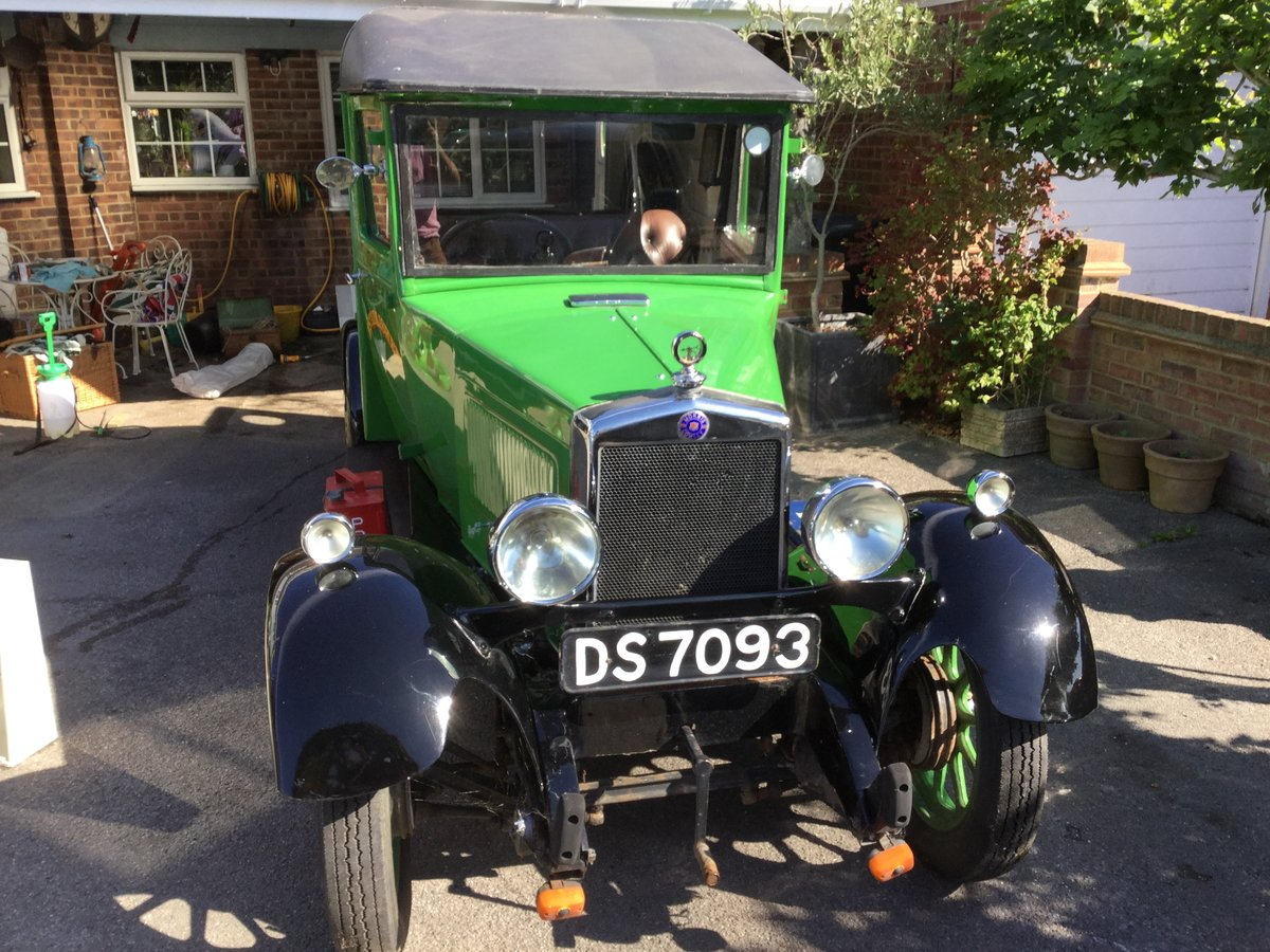 1929 Historic Vehicle; an old Morris Cowley Goods Van For Sale (picture 4 of 6)
