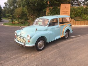 1971 Morris Minor Traveller Imaculate
