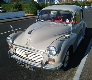 1966 Morris Minor 1000 Deluxe 2dr Saloon 'Mildred' For Sale