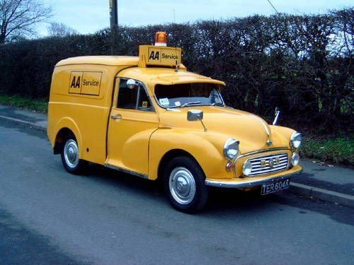 MORRIS MINOR AA 1973  BREAKDOWN  RECOVERY  VEICLE For Sale (picture 2 of 6)