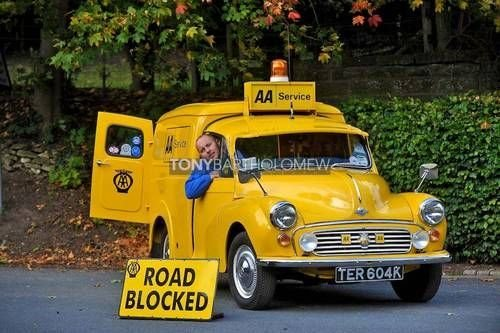 MORRIS MINOR AA 1973  BREAKDOWN  RECOVERY  VEICLE For Sale (picture 1 of 6)