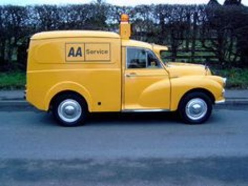MORRIS MINOR AA 1973  BREAKDOWN  RECOVERY  VEICLE For Sale (picture 3 of 6)
