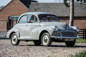 1966 Morri Minor 1000 - Just 37,000 miles three keepers