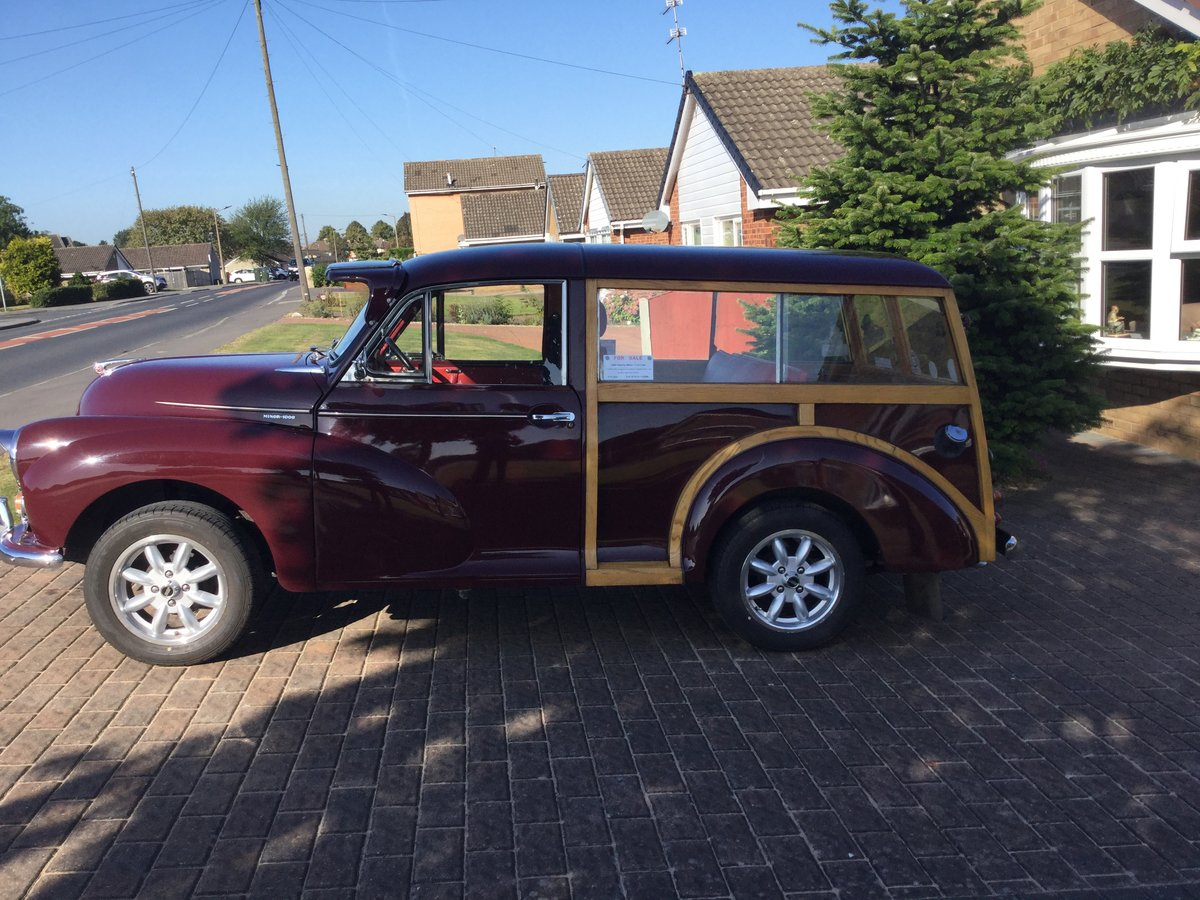 1968 MORRIS MINOR TRAVELLER For Sale (picture 1 of 6)