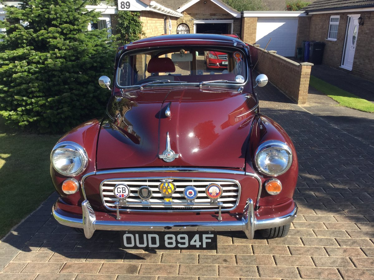 1968 MORRIS MINOR TRAVELLER For Sale (picture 2 of 6)