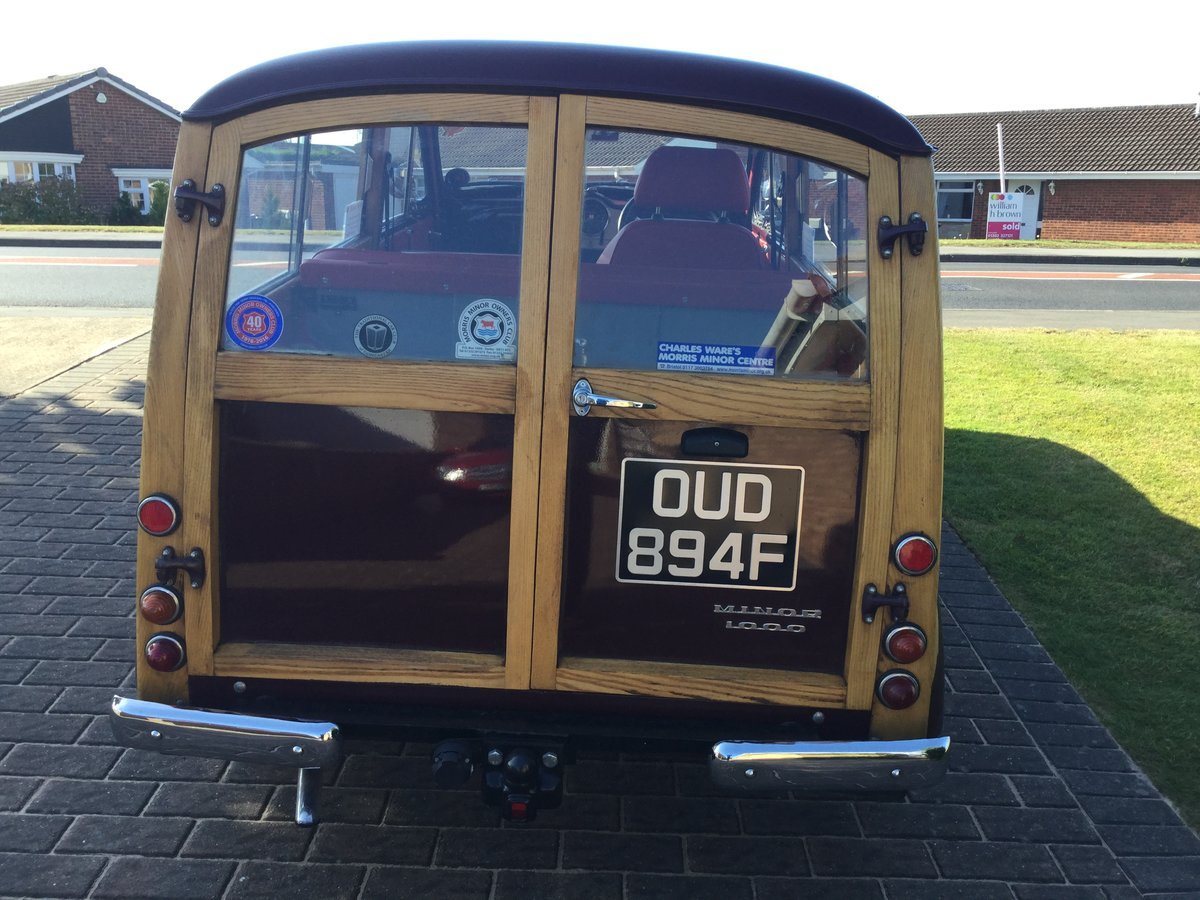 1968 MORRIS MINOR TRAVELLER For Sale (picture 4 of 6)