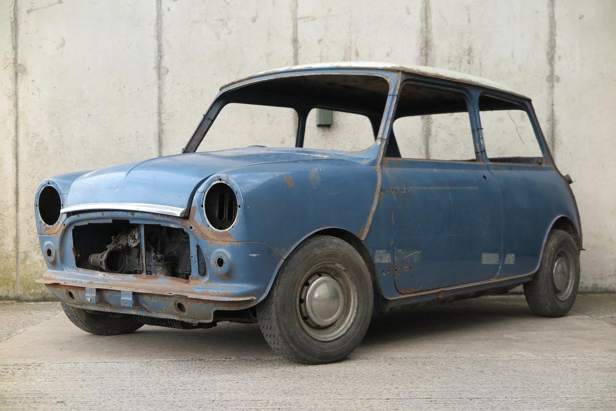1969 MORRIS MINI COOPER S MK2 - 1275cc - BARN FIND For Sale (picture 2 of 6)