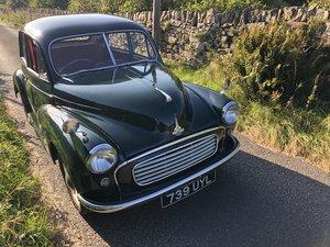 1955 Morris Minor Spilt - British Racing Green For Sale