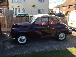 1967 Cracking Morris Minor convertible for sale For Sale