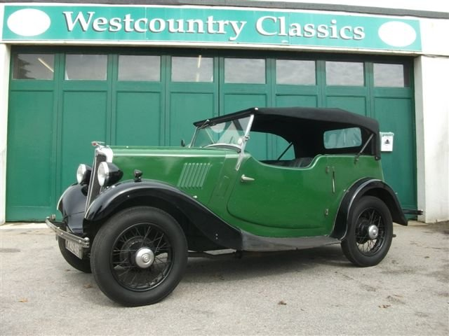 1937 Morris 8 Series 1 4 seat tourer SOLD (picture 1 of 6)