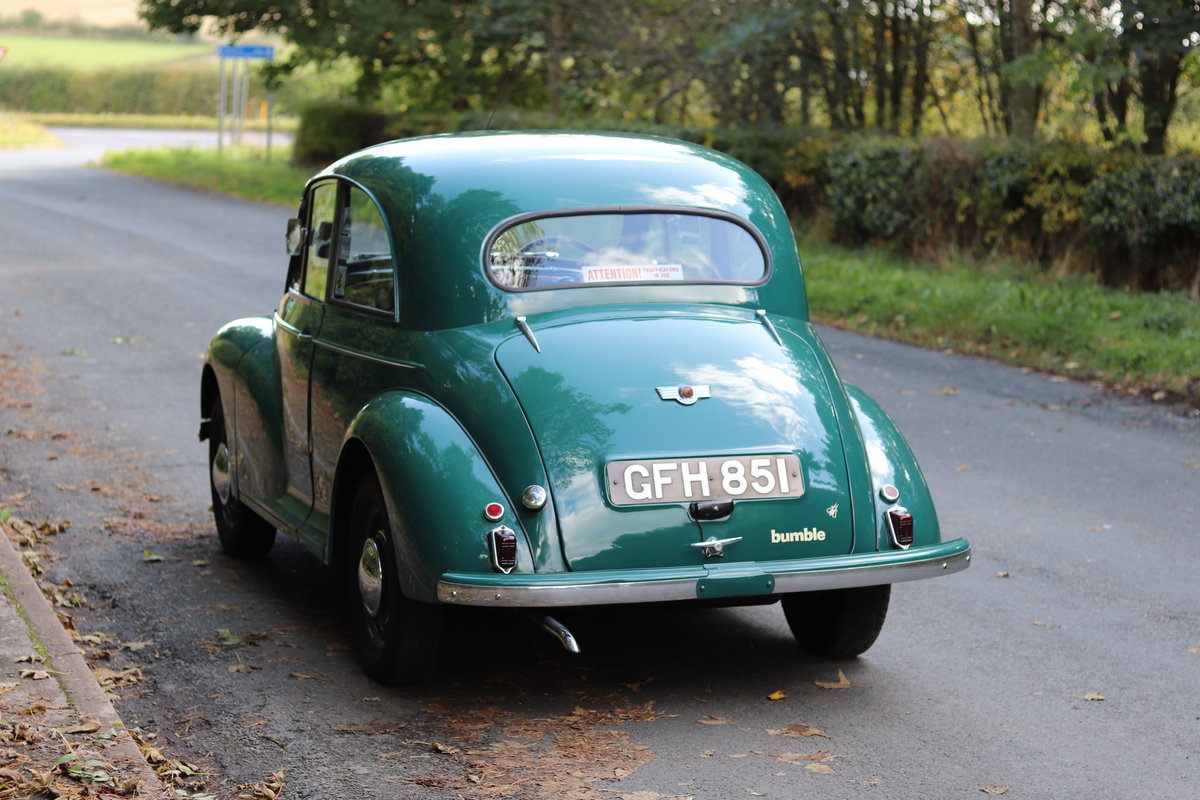 1949 Morris Minor Lowlight Saloon - Very original time warp For Sale (picture 4 of 20)