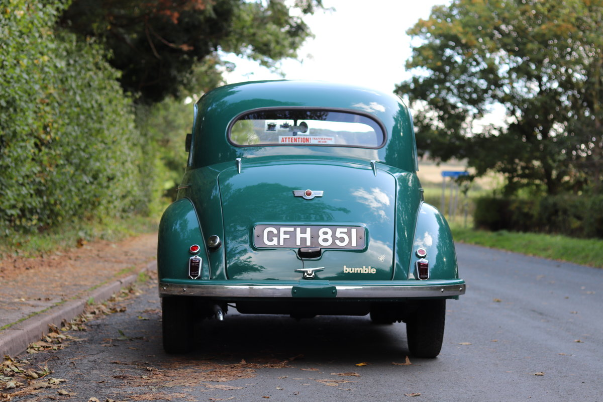 1949 Morris Minor Lowlight Saloon - Very original time warp For Sale (picture 5 of 20)