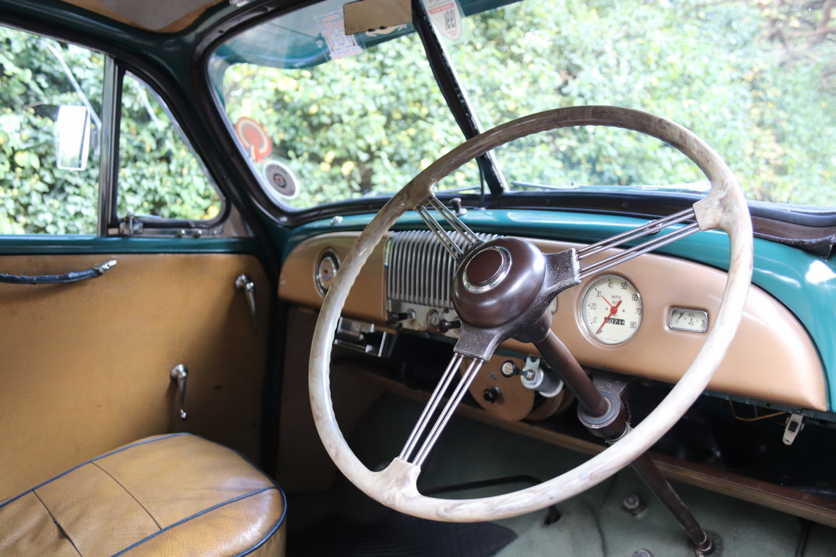 1949 Morris Minor Lowlight Saloon - Very original time warp For Sale (picture 8 of 20)
