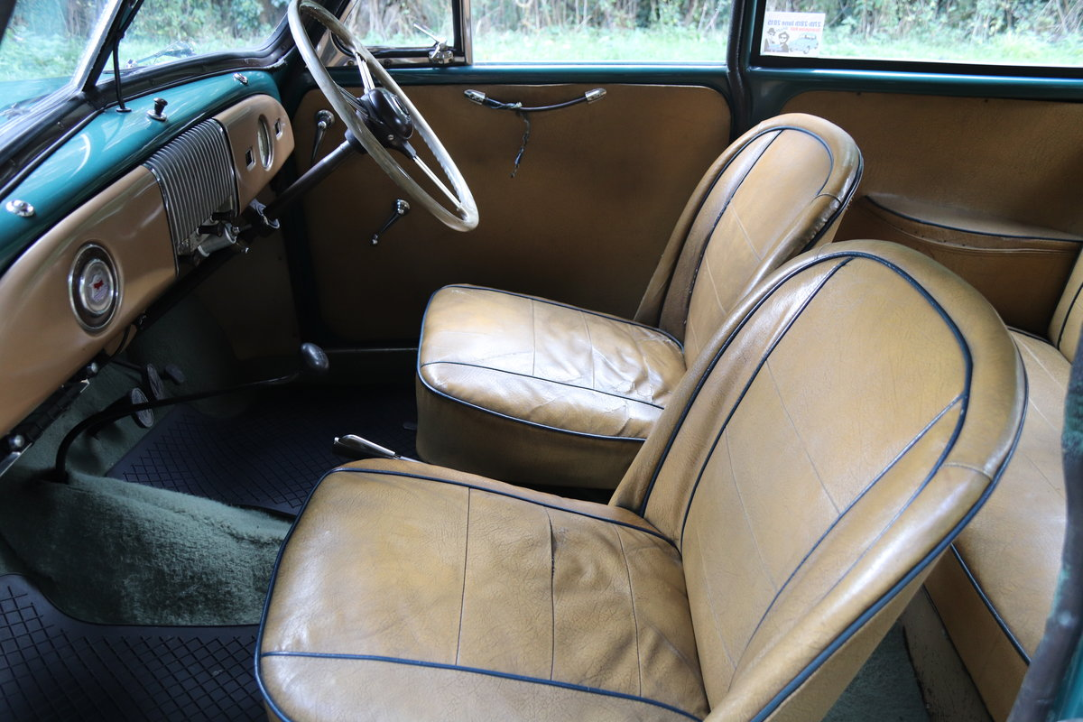 1949 Morris Minor Lowlight Saloon - Very original time warp For Sale (picture 12 of 20)