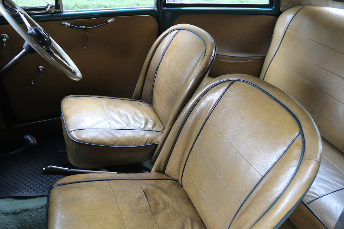 1949 Morris Minor Lowlight Saloon - Very original time warp For Sale (picture 13 of 20)