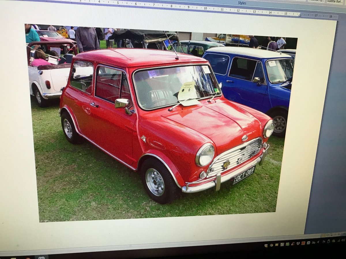 1969 Mini COOPER S Original Matching Numbers Car  For Sale (picture 5 of 6)