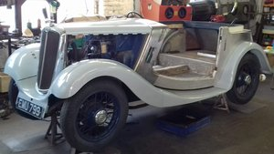 1936 Morris 8 Solid example desirable 2 seater to finis For Sale