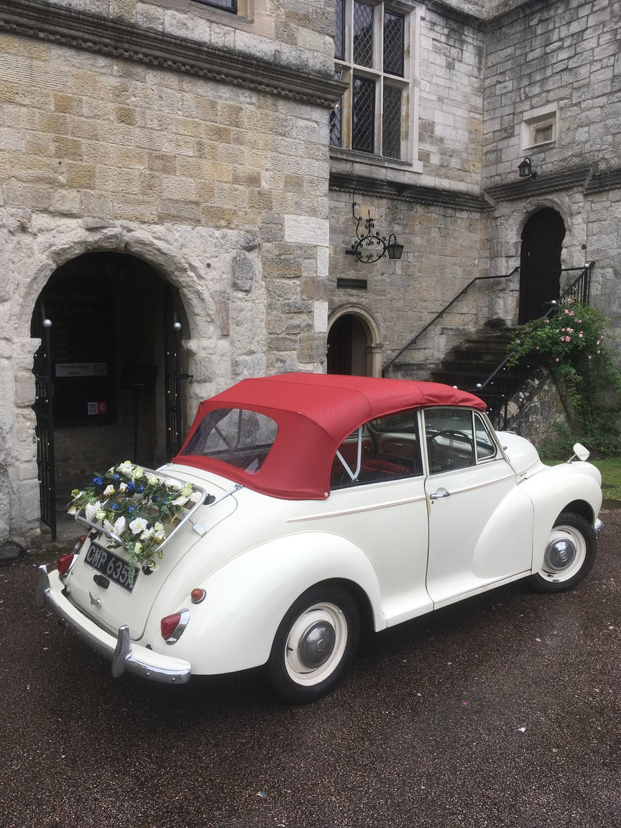 1963 Morris Minor Convertible Wedding Hire For Hire (picture 2 of 6)