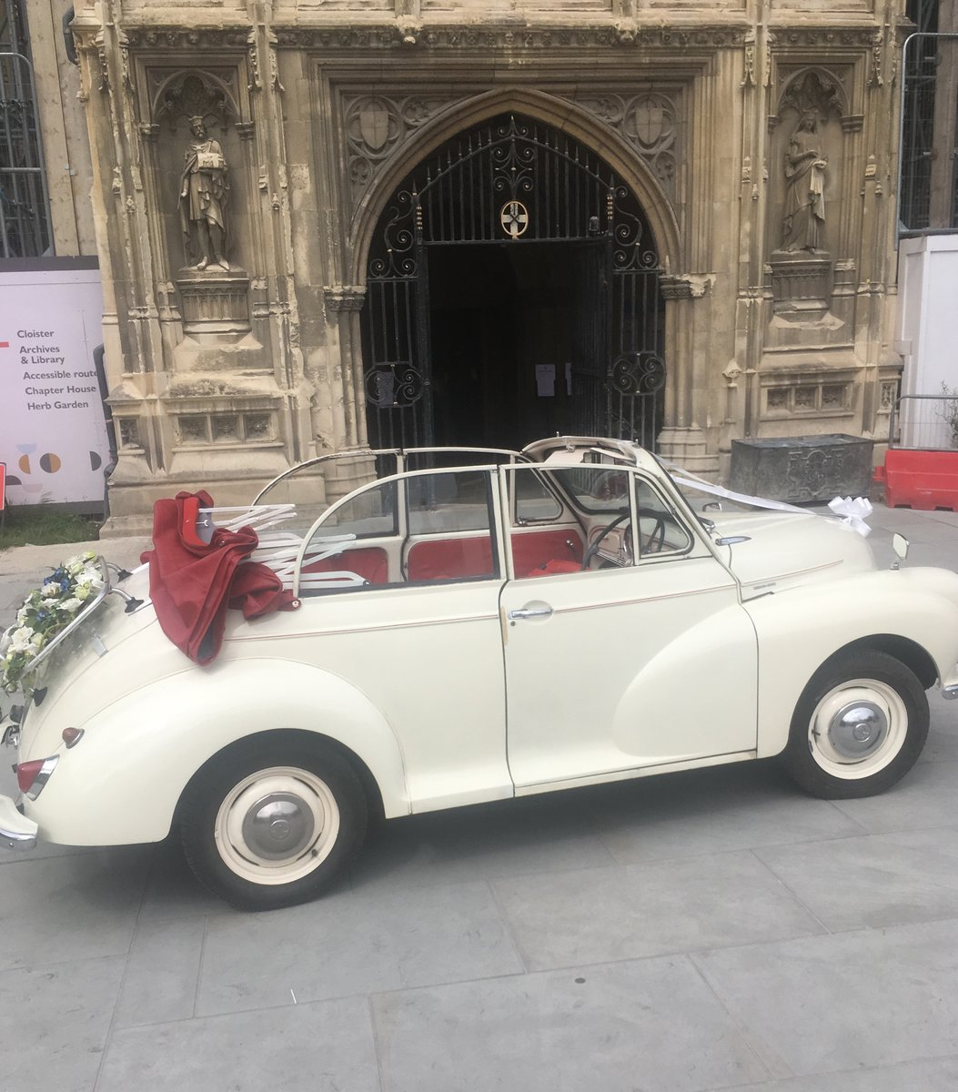 1963 Morris Minor Convertible Wedding Hire For Hire (picture 4 of 6)