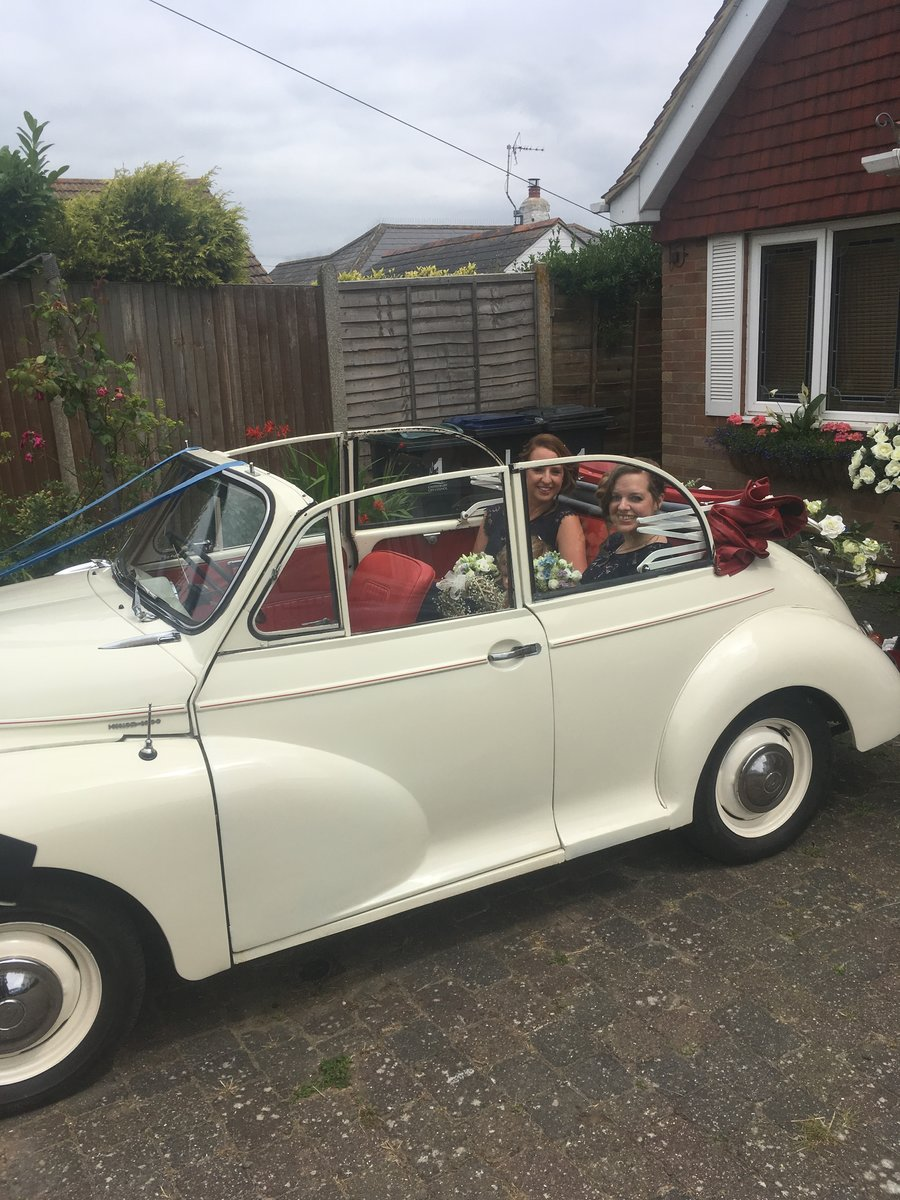 1963 Morris Minor Convertible Wedding Hire For Hire (picture 5 of 6)