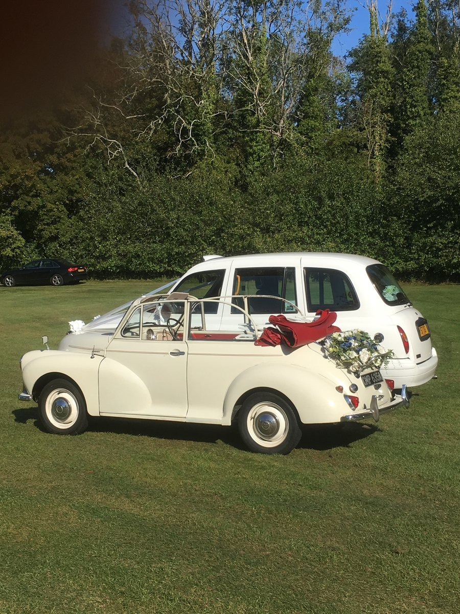 1963 Morris Minor Convertible Wedding Hire For Hire (picture 6 of 6)