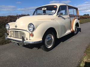 1965 Minor 1000 Traveller 1785 mls since Minor Centre restoration