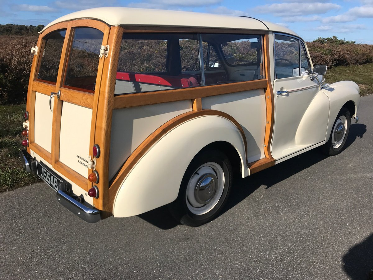 1965 Minor 1000 Traveller 1785 mls since Minor Centre restoration For Sale (picture 3 of 6)