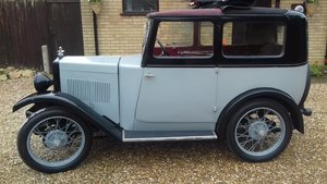 1931 Morris Minor Saloon with Folding Head For Sale