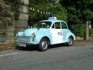 Morris Minor Panda Car Genuine 1969 Ex Met Police For Sale