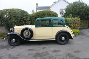 1934 Morris Oxford Coupe