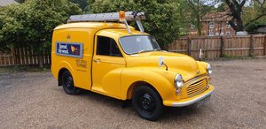 **NOVEMBER AUCTION** 1971 Morris 1000 Telecom Van For Sale by Auction