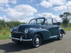 1953 Morris Minor Split Screen Convertible Series II 803cc SOLD