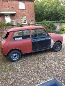 Morris Mini-Minor for restoration 1959/60