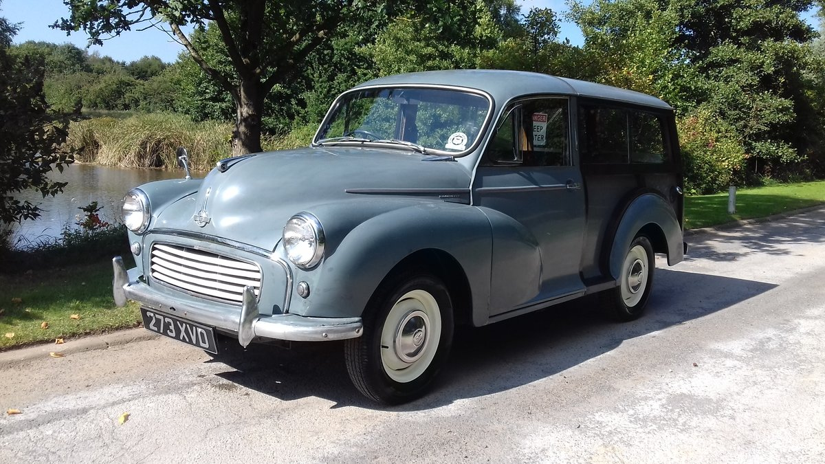 1959 MORRIS MINOR TRAVELLER ~ EARLY 'SEMAPHORE' MODEL!!!! SOLD (picture 1 of 6)