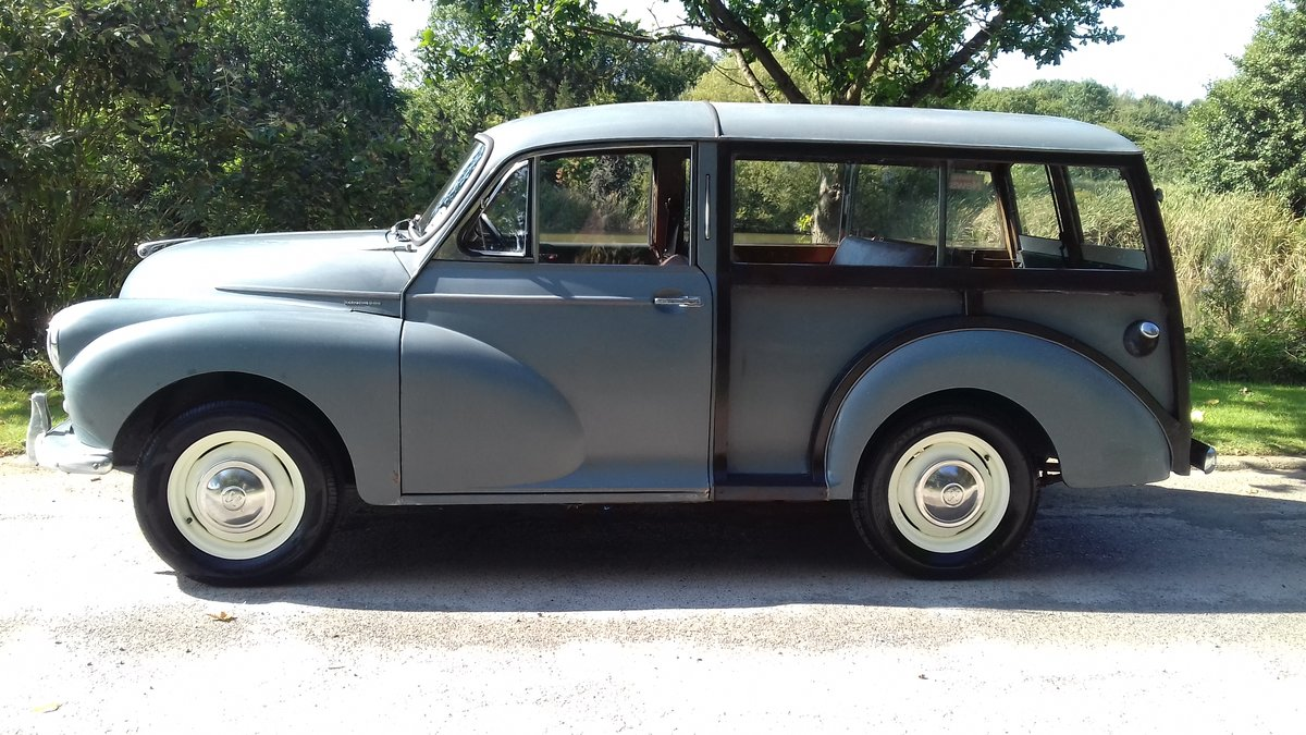 1959 MORRIS MINOR TRAVELLER ~ EARLY 'SEMAPHORE' MODEL!!!! SOLD (picture 2 of 6)