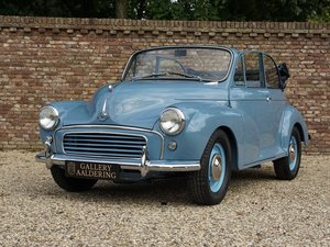 1961 Morris Minor 1000 Convertible LHD, fully restored, restorati For Sale