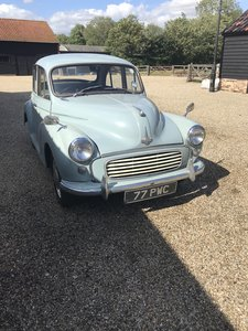 1963 Minor 1000 1 owner since new!!